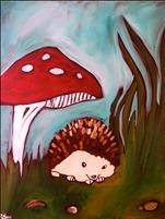Woodland Hedgehog - Kids/Family!