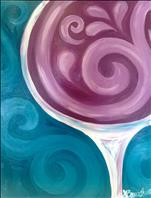**HAPPY HOUR** Purple Sommelier Swirl