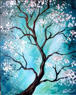 $30 Coffee and Canvas-Zen Tree
