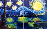 Starry Night Over the Water (Singles & Couples!)