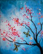 COFFEE and CANVAS- Blossoms and Butterflies 2/2