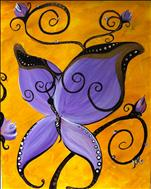Purple Butterfly TEENS AND UP