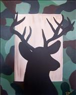 Dad Paints FREE! Camo Buck (only $25)