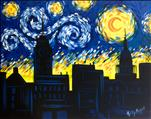 PUBLIC: Starry Night Over Lansing! Van Gogh's BDay