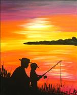 Fishing With Dad ~ All Ages!
