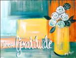 Mom and daugter/son Gratitude Painting *Teen frien