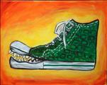 Art Enrichment Camp-Surrealist Gator Sneaker