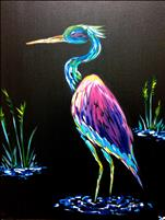 Neon Heron BLACKLIGHT