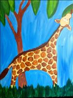**Kid's Summer Camp**  Silly Mister Giraffe
