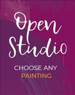 Open Studio, 2 hr. You pick your painting, guided!