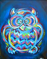 Neon Owl-Family Friendly 8+
