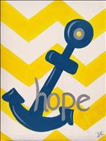 Chevron Anchor Hope ALL AGES WELCOME