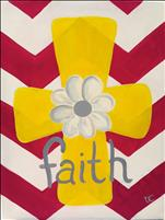 Chevron Cross Faith