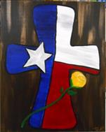 2 seats available Texas Flag Cross