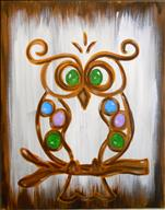 Jeweled Owl **Ages 13+ Welcome!**