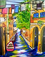Venice In The Spring! Teens & UP! 3-hr Class!