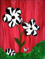 Zebra Flower  SUMMER KIDS CLASS