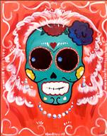 Dia de los Muertos SINGLE CANVAS