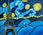 Starry Night Over Paris