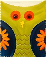*ALL AGES!* Quilted Owl - Choose Your Colors!