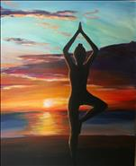 PRIVATE PARTY Yoga Painting Party!!