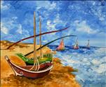 NEW ART: Van Gogh's Boats
