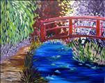 Monet's Red Bridge