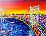 Colorful Ambassador Bridge