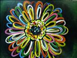 BLACKLIGHT Neon Gerbera
