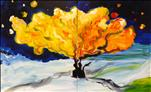 Van Gogh's Wintry Tree - Paint 1 or SET (Ages 18+)