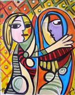 Picasso's Woman in the Mirror