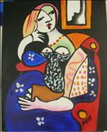 Picasso's Woman with a Book*