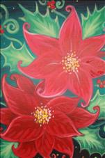 MANIC MONDAY! 3 Hour for $35! Poinsettia