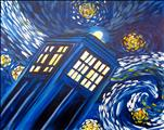 TARDIS FANS Blue Phone Booth