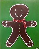 COCOA & CANVAS: Gingerbread Man