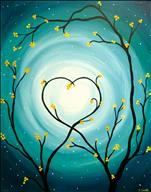 Heart Blossom Tree--Your Colors!