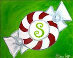 Family Friendly: Peppermint Monogram