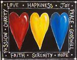 Hearts of Happiness - Choose Your Colors!