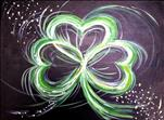 All Ages - Neon Irish Shamrock
