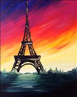 COFFEE & CANVAS: A Paris Sunset: Ages 12+