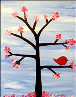Creative Kids Paint! Blossoms and Bird Tree