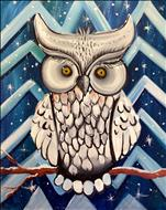 Icy Owl, 3 hr. Step by step Instructions