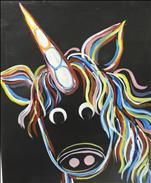KIDS PAINT Neon Unicorn (6yo+)