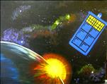 I Paint Now. Painting is Cool TARDIS FAMILY DAY 8+
