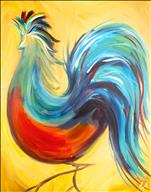Charming Rooster! *WINE WED* Drink Included*
