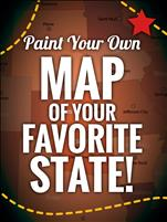 Public Class ~ Paint a Map of Your Favorite State