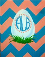 Easter Monogram - Family Paint
