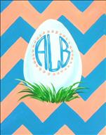 Easter Egg Monogram