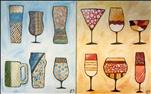 Beer & Wine Glasses (Couples Option!)