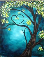 Love Tree Blue